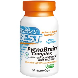 Doctor's Best PycnoBrain Complex with Pycnogenol & Taurine