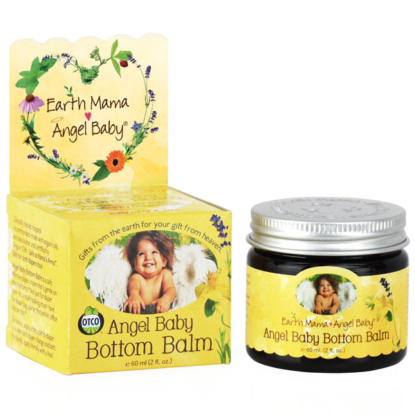 Angel Baby Bottom Balm, 2 oz, Earth Mama Angel Baby