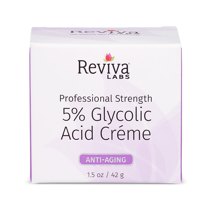 Reviva Labs 5% Glycolic Acid Day & Night Cream, 1.5 oz