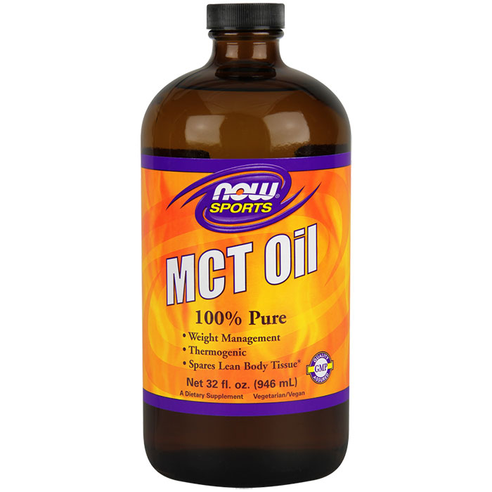 MCT Oil Liquid, Medium Chain Triglycerides, 32 oz, NOW Foods