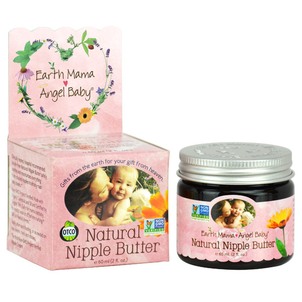 Natural Nipple Butter, 2 oz, Earth Mama Angel Baby