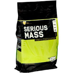 Optimum Nutrition Serious Mass, Weight Gainer, 12 lb