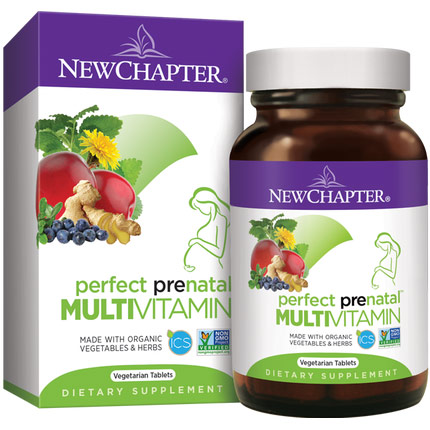Perfect Prenatal, 96 Tablets, New Chapter