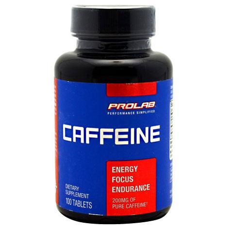 Prolab Caffeine 200 mg, 100 Tablets