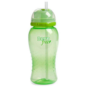 14 oz Twist'n Pop Baby Straw Cup - Green, 1 ct, BornFree (Born Free)