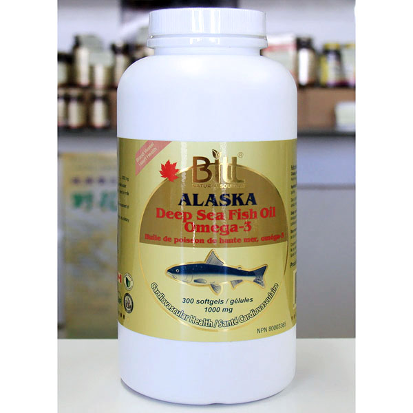 Golden alaska deep sea fish oil omega369 1000 mg 300 for Alaska deep sea fish oil