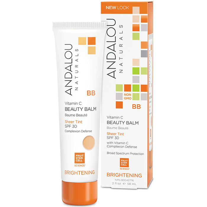 Andalou Naturals All In One Beauty Balm Sheer Tint Spf