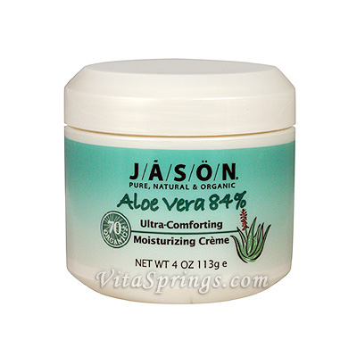 aloe vera cream 84 with vitamin e 4 oz jason natural day of health 105 s. Black Bedroom Furniture Sets. Home Design Ideas