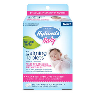 Baby Calming Tablets, 125 Tablets, Hyland's