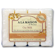 Eco bags natural cotton soap bag 4 x 425 1 bag for A la maison soap review