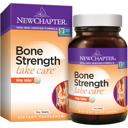 Bone Strength Take Care Tiny Tabs, 240 Tiny Tablets, New Chapter