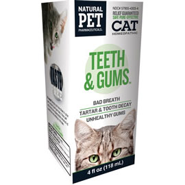 Cat Teeth & Gums, 4 oz, King Bio Natural Pet (KingBio)