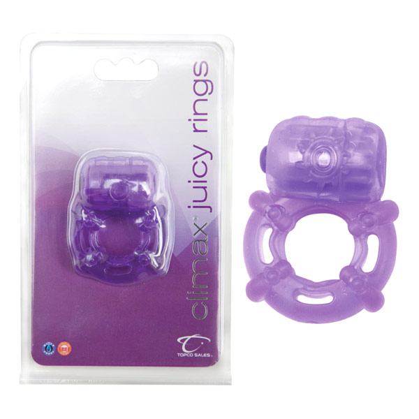 Climax Juicy Rings, Purple, Topco Climax