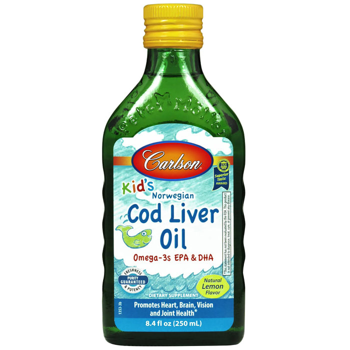 088395013539 upc carlson labs cod liver oil for kids 250 for Liquid fish oil walmart