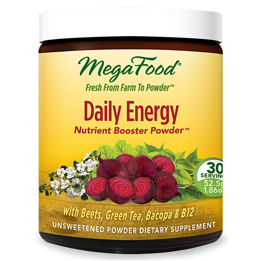 Daily Energy, Nutrient Booster Powder Whole Food, 30 Servings (52.5 g), MegaFood