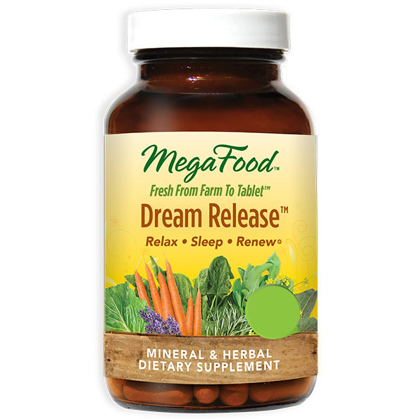 Dream Release, Promote Restful Sleep, 30 Tablets, MegaFood