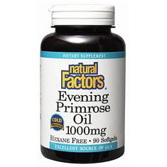 Natural Factors Evening Primrose Oil Mg