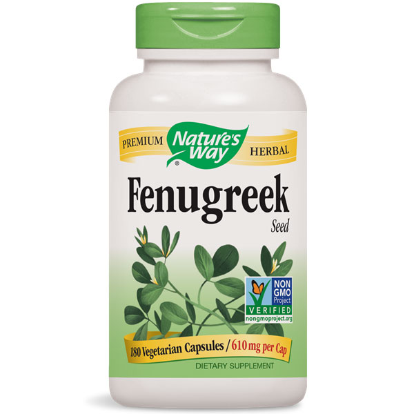 Fenugreek Seed 180 caps from Nature's Way