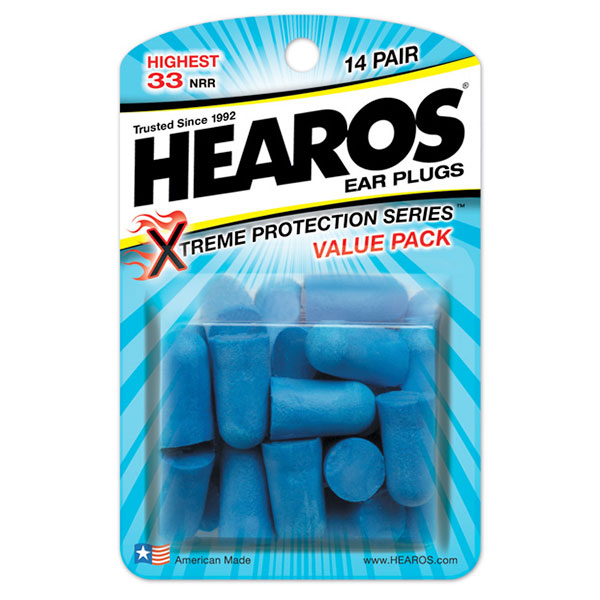 Hearos Ear Plugs Xtreme Protection Series, Value Size, 14 Pair