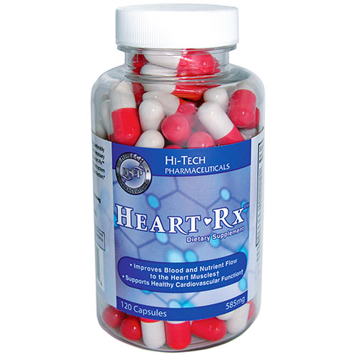 heart rx 120 capsules hi tech pharmaceuticals day of health 105