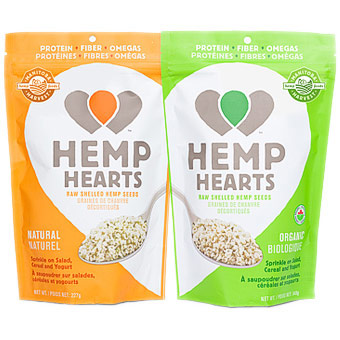 Hemp Hearts Raw Shelled Hemp Seed, 16 oz, Manitoba Harvest Hemp Foods