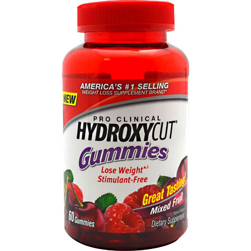 Hydroxycut Gummies, Lose Weight Stimulant-Free, 60 Gummies, MuscleTech