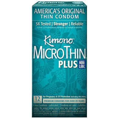 Kimono Microthin Plus Aqua Lube