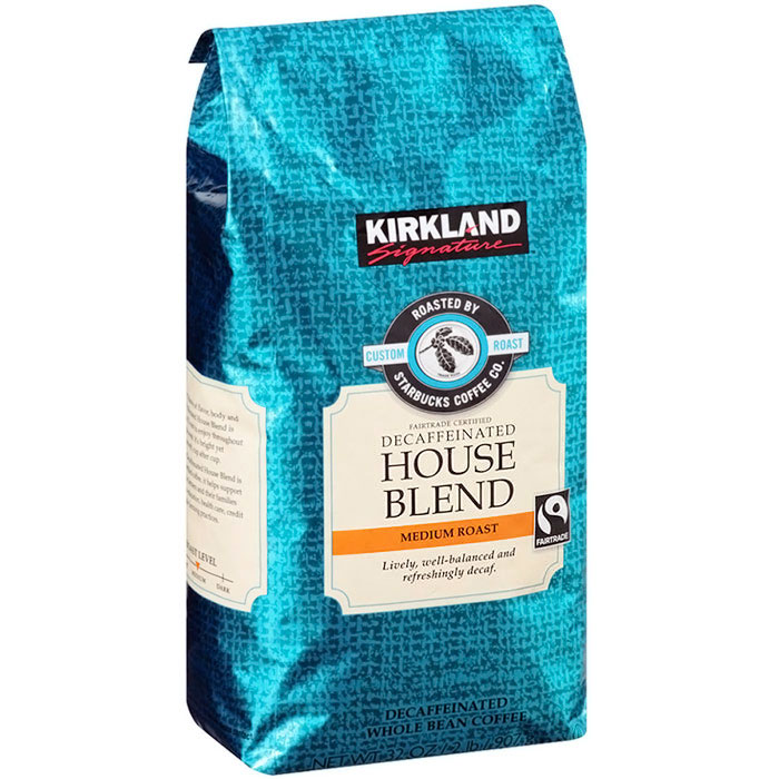 Kirkland Signature Roasted by Starbucks Espresso Blend, g (2 lb), 2-pack. Starbucks roasted whole bean coffee Dark roast, full-bodied and bold.