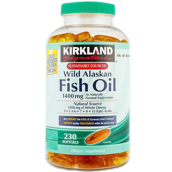 Buy kirkland signature online compare prices find best for How much fish oil a day