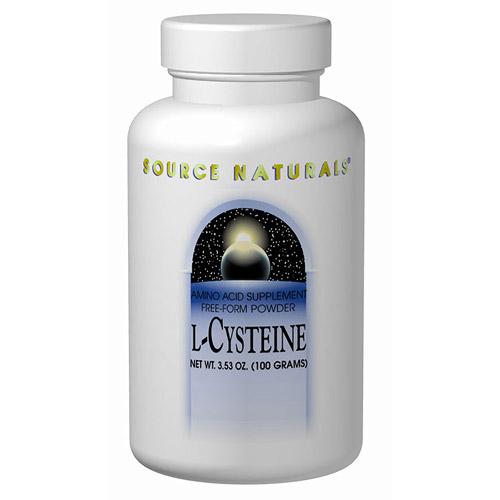 Cysteine Powder 100gm from Source Naturals (Vitamins Supplements ...