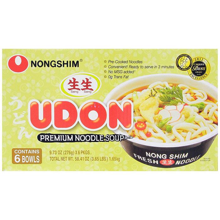 Nong Shim Shin Cup Noodle Soup, 8 Pack