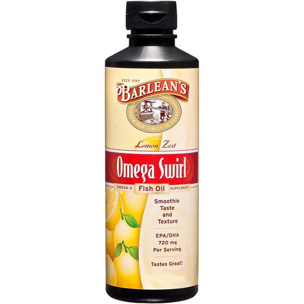 Coupons for omega swirl fish oil liquid supplement lemon for Barlean s omega swirl fish oil