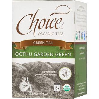 Oothu Garden Green Tea 16 Tea Bags X 6 Box Choice