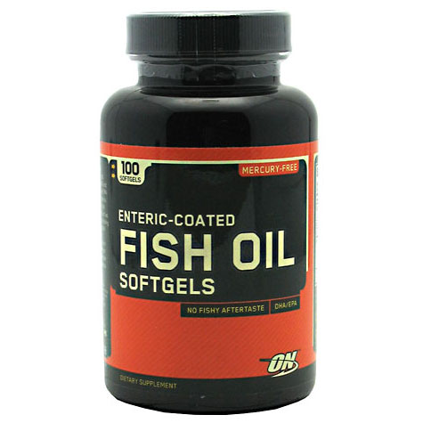 Optimum nutrition fish oil enteric coated 100 softgels for Optimum nutrition fish oil