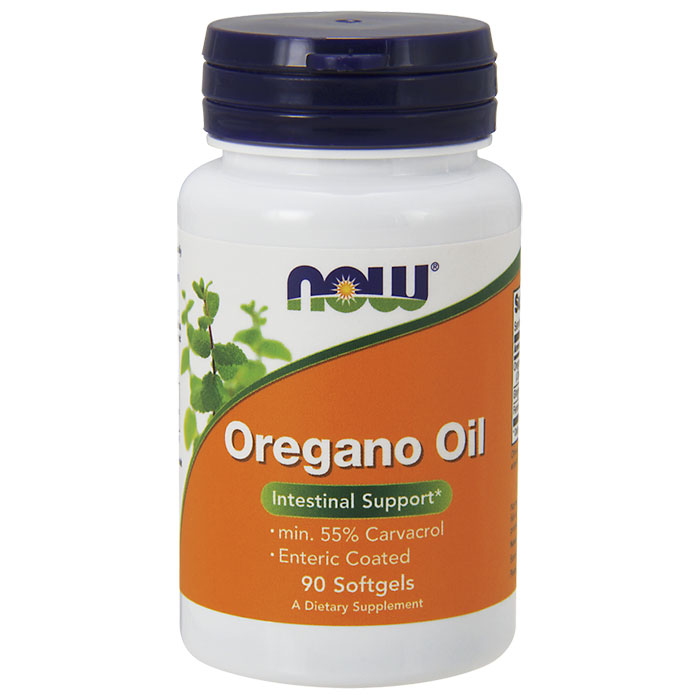 Oregano Oil 90 Softgels, NOW Foods