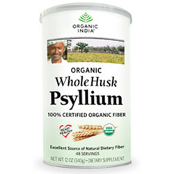 Fiber Harmony, Organic Whole Husk Psyllium, 12 oz, Organic India