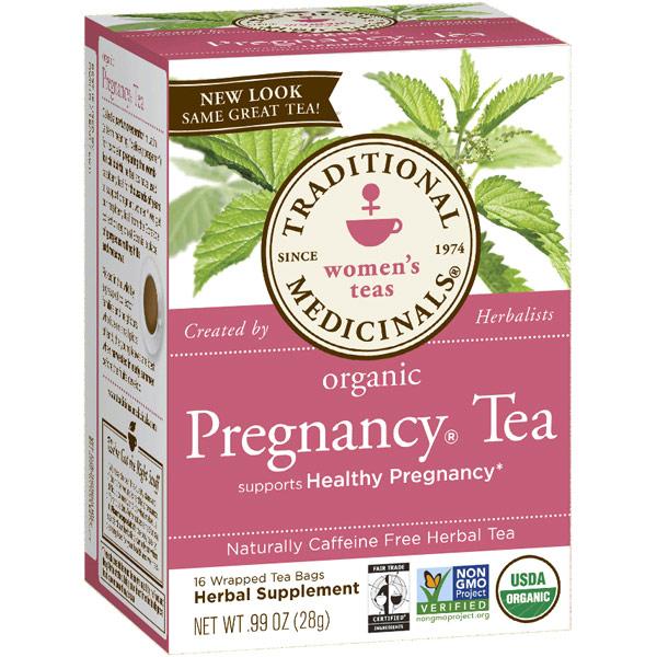 Pregnancy Tea 16 bags, Traditional Medicinals Teas (Tea - Traditional ...