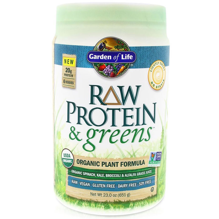 658010118682 Upc Garden Of Life Raw Protein And Greens Light Upc Lookup