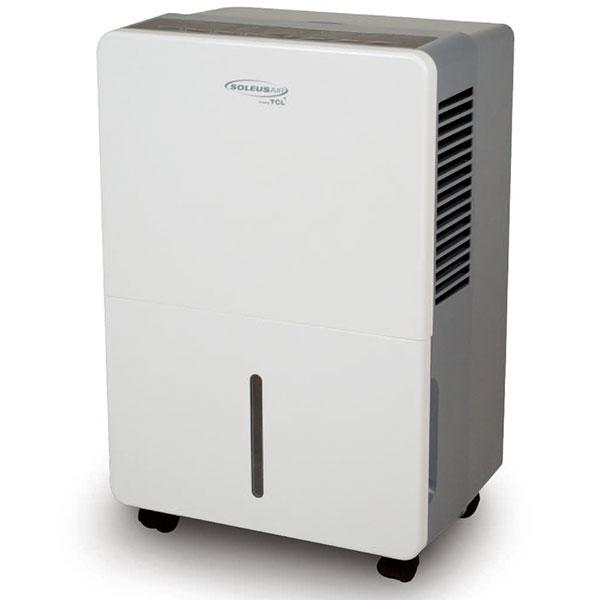 Soleus TDA70E 70 Pint Capacity Dehumidifier with R-410A Refrigerant, 16.9 Pints Bucket Capacity, 3 Preset Modes, Automatic Defrost, Bucket Full Indicator and Energy Star TDA70E