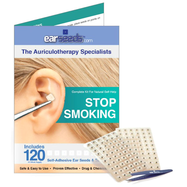 Stop Smoking Ear Seed Kit, EarSeeds Health Fitness Skin Care Beauty Supply Deals