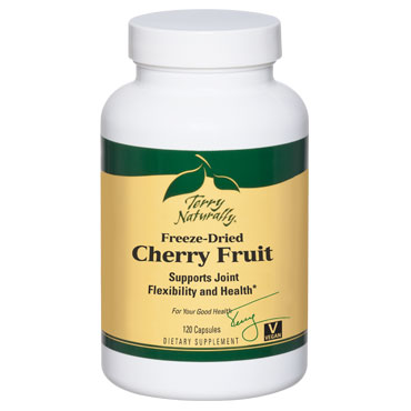 Terry Naturally Cherry Fruit Freeze Dried, 120 Capsules, EuroPharma