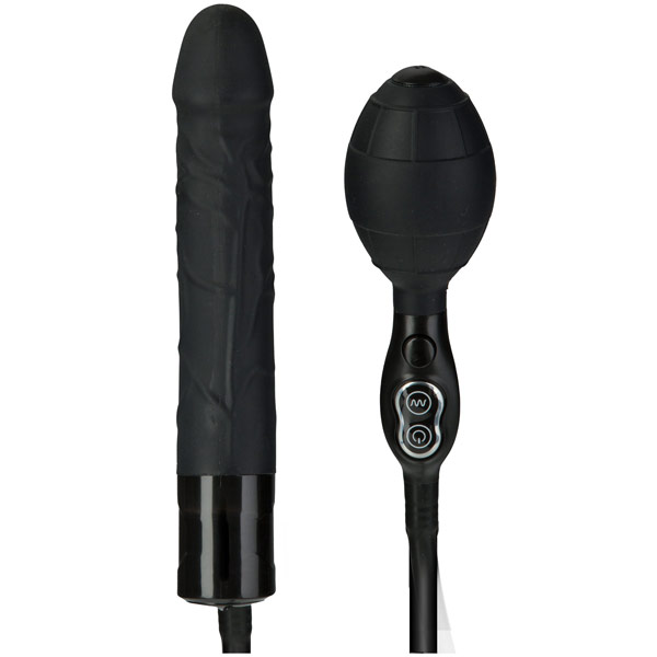 TitanMen Vibrating Inflatable Wonder - Black, Doc Johnson