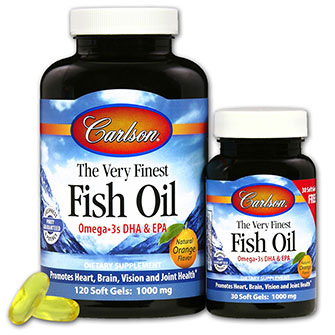 Very finest fish oil 1000 mg 120 30 free chewable for How much fish oil a day