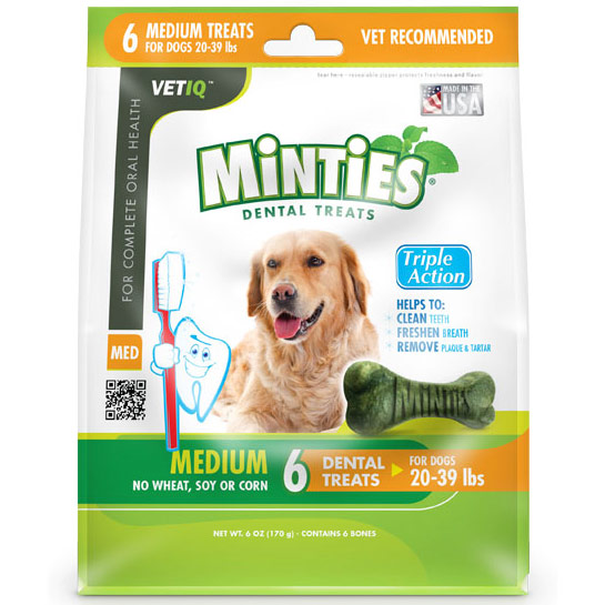 Minties Large Dog Treats Hip And Joint